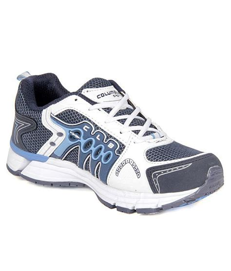 colombus sports shoes columbus white blue sports shoes price in india buy