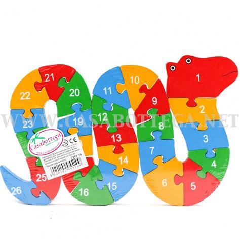 giochi con lettere puzzle in legno