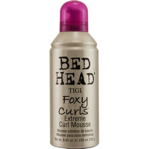 bed head foxy curls bed head by tigi foxy curls extreme curl mousse 8 45 oz