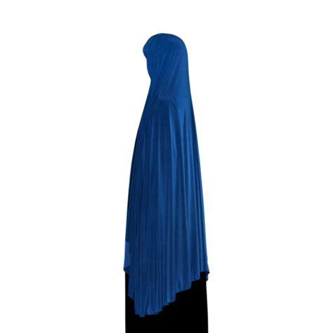 Khimar Arab khimar headscarf in blue style