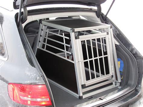 Hundebox Für Audi A4 Avant by N24 Hundetransportbox Gitterbox Aluminium Transportbox