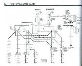 1953 ford turn signal wiring diagram wiring diagram