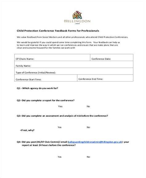 feedback form templates