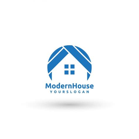 Modern House Logo Template Vector Free Download Modern Logo Template