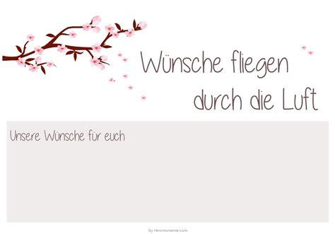 Kostenlose Vorlage ã Karte Hochzeit Vorlage Kostenlose Luftballonkarten F 252 R Euch Hochzeitsblog Herzmomente