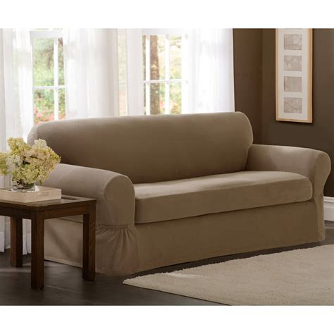 Oversized Sofa Slipcover Couch Slipcovers Thesofa Sofa Slipcover