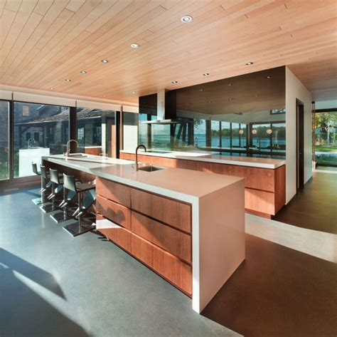wooden modern kitchen historic home gets a cool contemporary extension