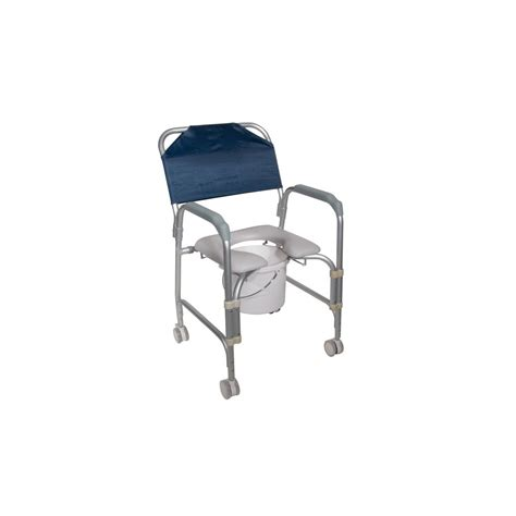 lightweight portable shower chair commode with casters aluminum shower chair and commode with casters american