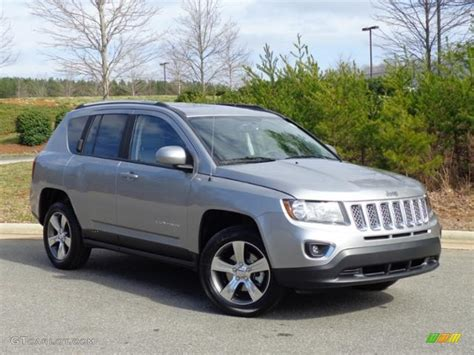 jeep silver 2016 2016 billet silver metallic jeep compass high altitude