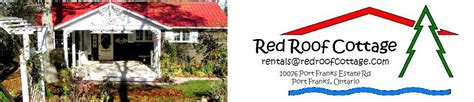 red roof cottage port franks ontario