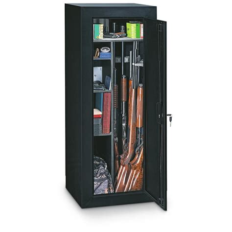 stack on 22 gun cabinet stack on convertible 18 gun cabinet 187332 gun safes at