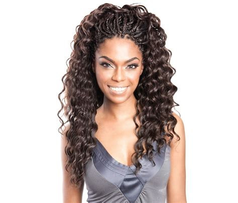 isis mane concept 3x wet wavy bulk hair 20 shop from our model model deep wave braiding hair find your perfect