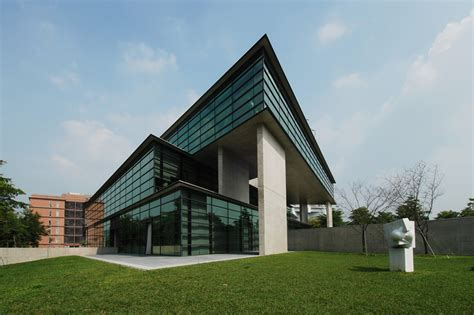 designboom tadao ando triangular geometry defines asia museum of modern art by