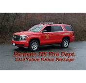 2015 Chevrolet Tahoe Police Package – Brewster NY Fire Dept
