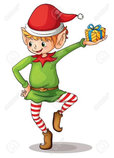 images of christmas elves elfen clipart santa s workshop pencil and in color elfen