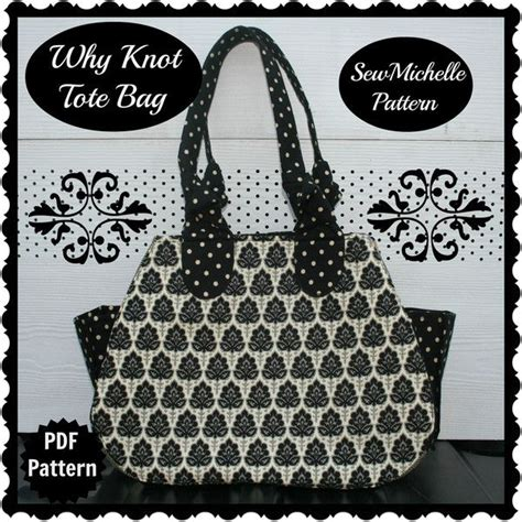 downloadable tote bag pattern why knot tote bag pdf downloadable pattern