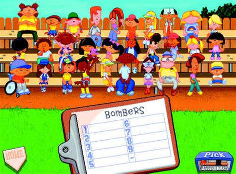 backyard baseball kids backyard baseball game giant bomb