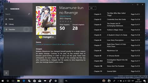 windows 10 mobile store app removes fluent design with the windows 10 manga reader with fluent design by cyanrooper