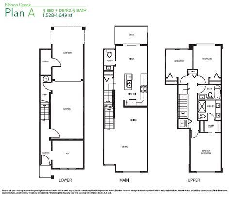 open floor plan townhouse new vancouver condos for sale presale lower mainland