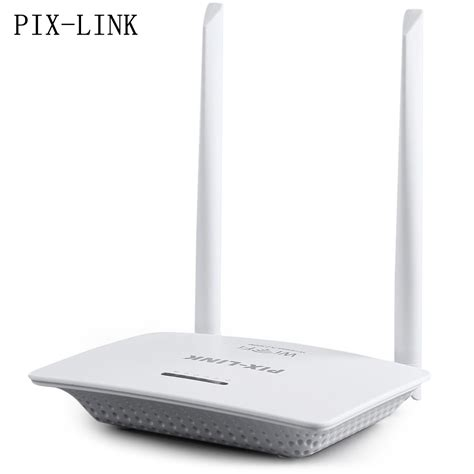 Router Wifi Pc pix link 300m wireless n router server with two antennas wireless router wifi router repeater