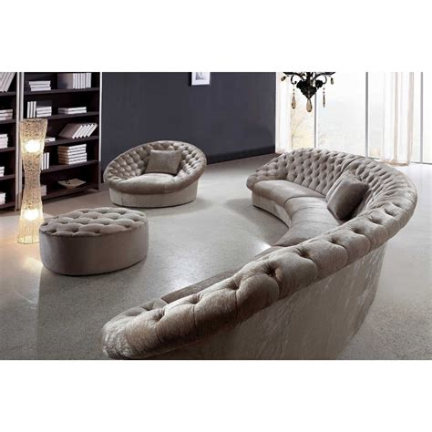 Tufted Sofa With Chaise Mariaalcocer Com Curved Sectional Sofa With Chaise