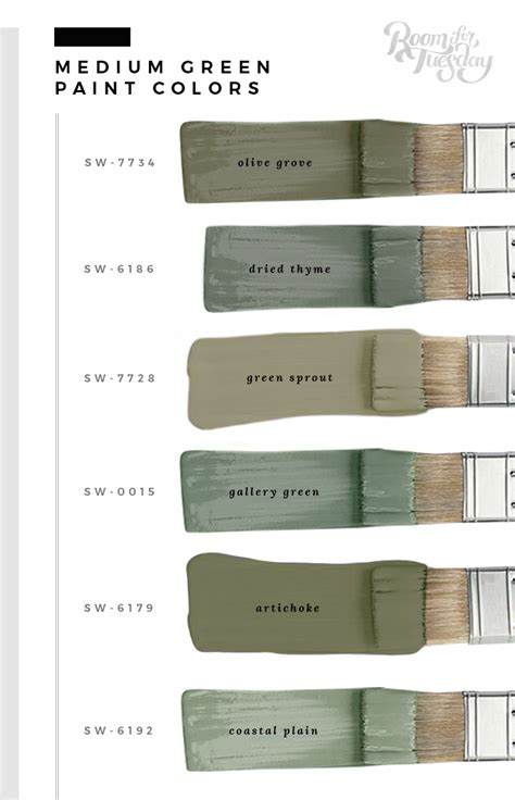 favorite green paint colors my favorite green paint colors room for tuesday