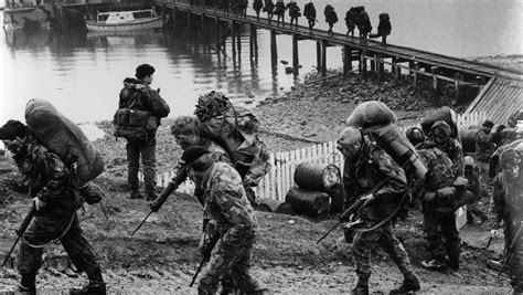 And Begin Battle by Falklands War How Did The Conflict Start The Week Uk