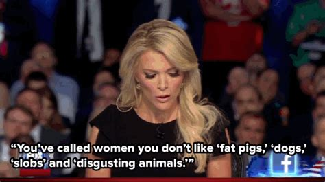 video women warn megyn kelly back off trump the donald trump s disrespect for female reporters goes way