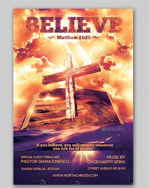 church flyers 45 free psd ai vector eps format