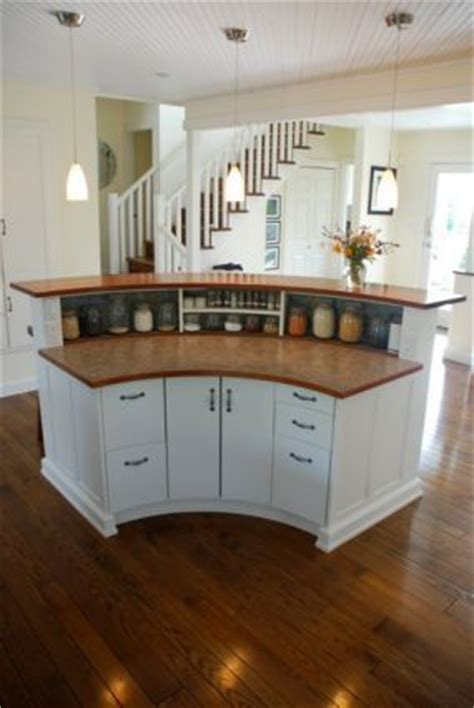 Rounded Kitchen Island 25 best ideas about kitchen island bar on pinterest