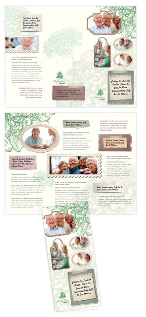 home health care brochure templates pin by dlayouts on creative brochure templates