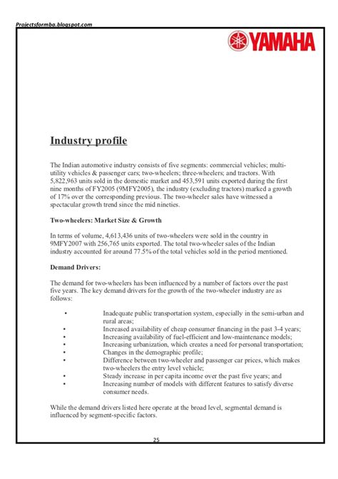Customer Letter Of Satisfaction Template A Project Report On Customer Satisfaction Of Two Wheelers Industries