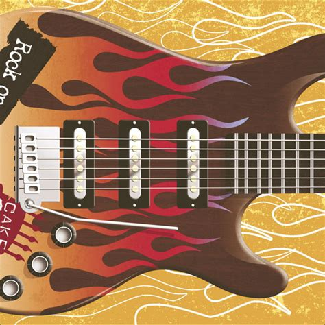 Guitar Birthday Card Pull Out Rock Guitar Sound Birthday Card Cards Love Kates