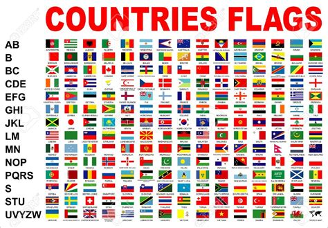 flags of the world pictures with names countries flags stock photo picture and royalty free