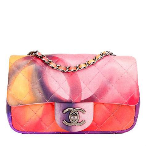 Bag Tas Chanel Flower Large chanel flower power mini flap bag world s best