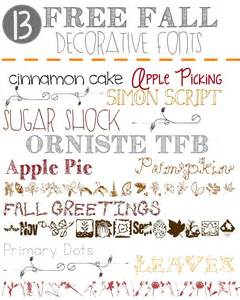 13 free fall decorative fonts outnumbered 3 to 1