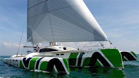 trimaran around the world rapido 60 trimaran sailing hauraki gulf catamaran