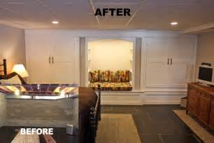 basement remodel before and after basement remodeling contracting inc