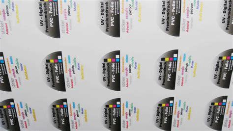 Runder Sticker Drucken by Runde Sticker Drucken Als Pvc Foliensticker Rund Bedrucken