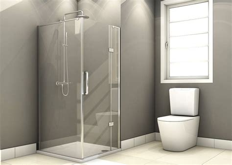 Hinged Glass Shower Doors Elite 800mm Frameless Hinged Shower Door 8mm Glass