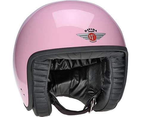 Helm Retro Standart davida jet standard open retro motorcycle helmet pink