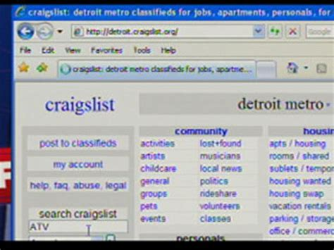 craigslist used cars for sale by owner in metro detroit mi