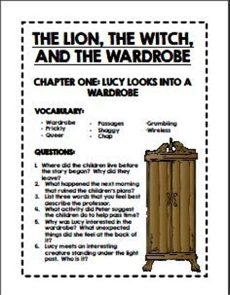 The The Witch And The Wardrobe Activity Sheets by 1000 Images About Chronicles Of Narnia Activities On