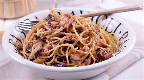 la cocina de julius spaguetti con panceta y radicchio julius julio bienert