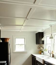 how to install beadboard ceiling popcorn rehab diaries diy beadboard ceilings before and after