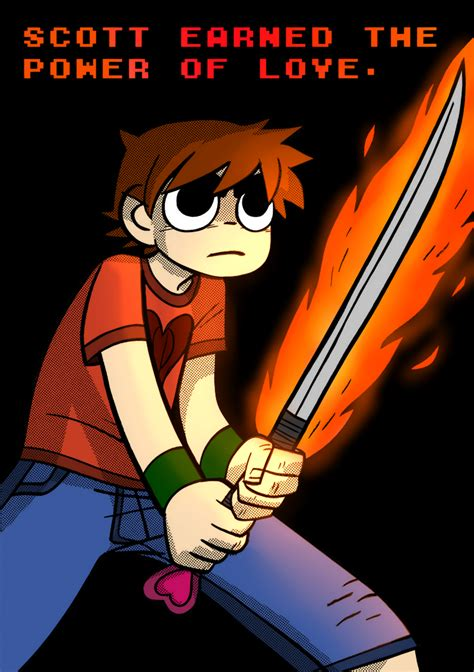 4 the love of go l d scott pilgrim the power of the love by lcloud on deviantart