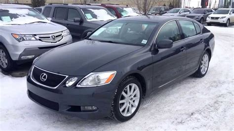 how things work cars 2006 lexus gs on board diagnostic system pre owned 2006 lexus gs 300 awd review calgary youtube