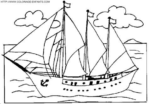 dessin bateau de plaisance bateau navire 43 transport coloriages 224 imprimer
