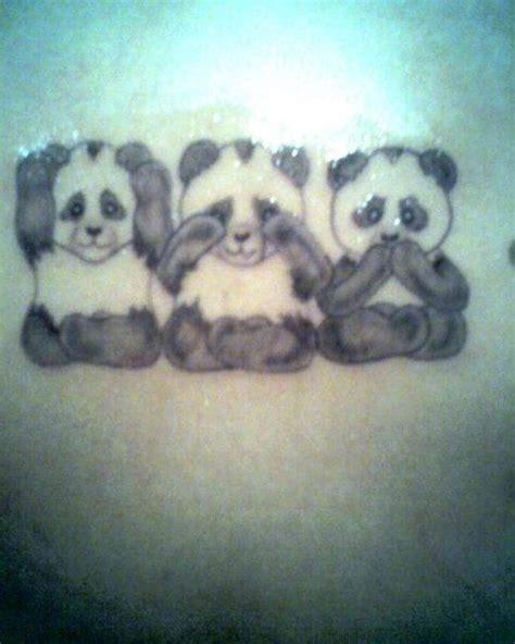 panda tattoo love panda tattoo cute idea love my pandas image tattoos