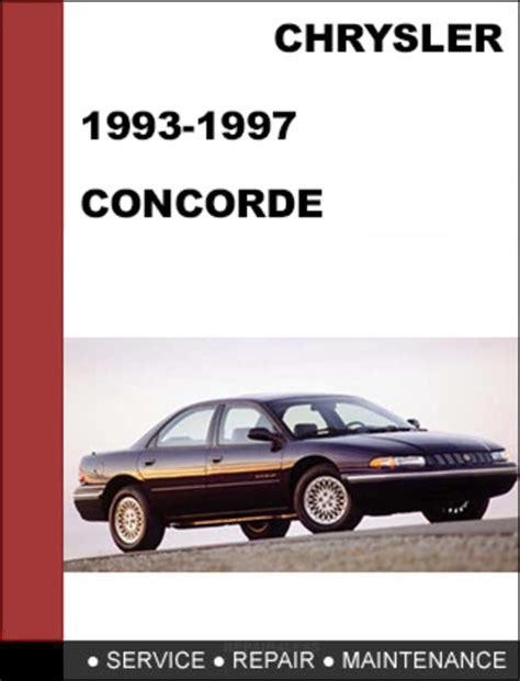 car repair manuals online free 1993 chrysler concorde on board diagnostic system 28 97 chrysler concorde service manual 111786 chrysler car truck manuals